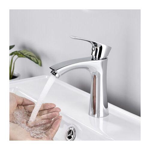 AIHOM Kaltwasser Armatur für Bad Klein Kaltwasserhahn chrom Wasserhahn