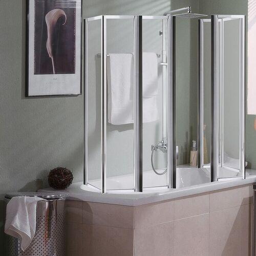 MUCOLA Badewannen Duschfaltwand Duschkabine Badewannenaufsatz Faltwand Dusche