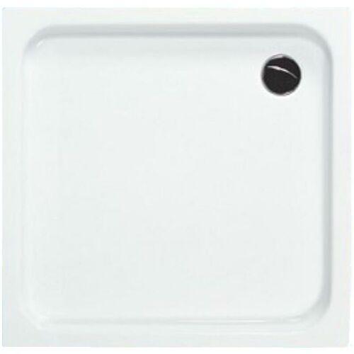 BÄDER BOUTIQUE BB Quadrat Acryl Duschwanne in 100 x 6,5 cm