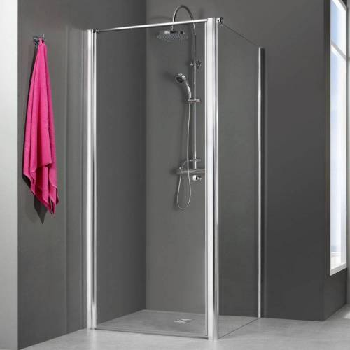 BREUER GMBH & CO.KG Breuer Gmbh&co.kg - Breuer Dusche Elana 6 Drehtür für Seitenwand