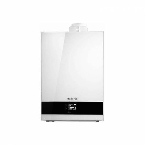 Buderus Brennwerttherme Logamax plus GB192i - 35 kW - Farbe weiß