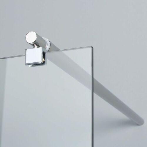 KIAMAMI VALENTINA Begehbare Dusche 90 Cm Für Duschtasse Oder Bodenerdigen Einbau