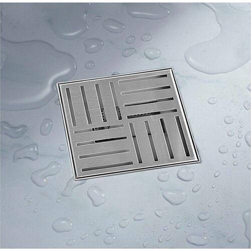 BITUXX 20x20 Duschablauf Abfluss Duschabfluss Duschrinne Ablaufgarnitur