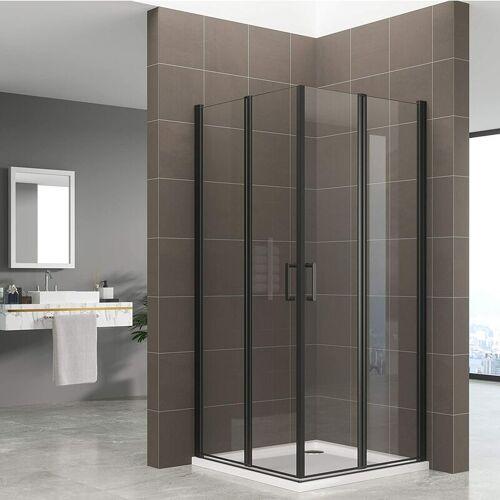 Duschbär - Duschkabine ALINA, Höhe: 180 cm Eckduschkabine mit Falttüren