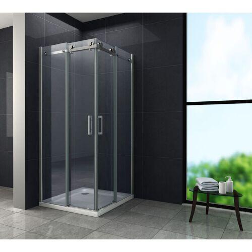 GLASDEALS Duschkabine TELA 100 x 100 x 195 cm - Klarglas