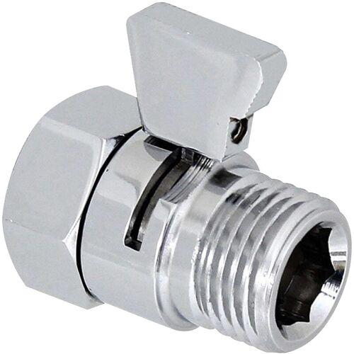 ASUPERMALL Duschkopfventil, Wasserdurchflussregler Ventilregler G1 / 2, L.