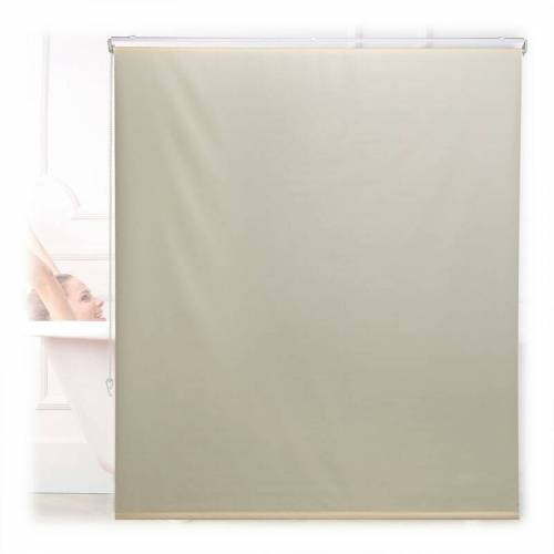 RELAXDAYS Duschrollo, 140x240 cm, Seilzugrollo für Dusche & Badewanne, Decke &