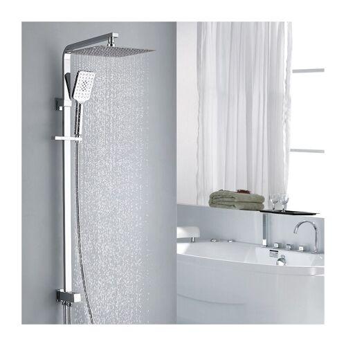HOMELODY Duschset Duschsäule Regendusche Duschset mit Überkopfbrause und