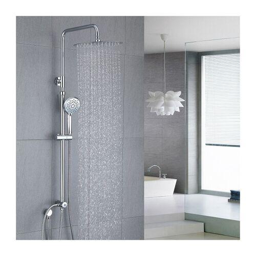 HOMELODY Duschsystem aus Edelstahl ohne Armatur, Regenduschset Duschset und