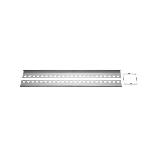 Poresta Systems - Duschsystem Slot Edelstahlprofil-Set 22mm-'41069838'