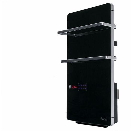 Purline - Handtuchhalter Digitaler Elektrische Heizung aus schwarzem
