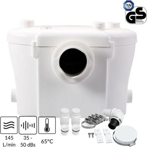 TRAD4U Hebeanlage Kleinhebeanlage Abwasserpumpe Pumpe Sanitärpumpe WC