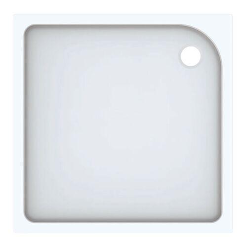 KERAMAG Geberit Duschwanne Tala quadratisch, glänzend/ weiß, 100 x 100 cm