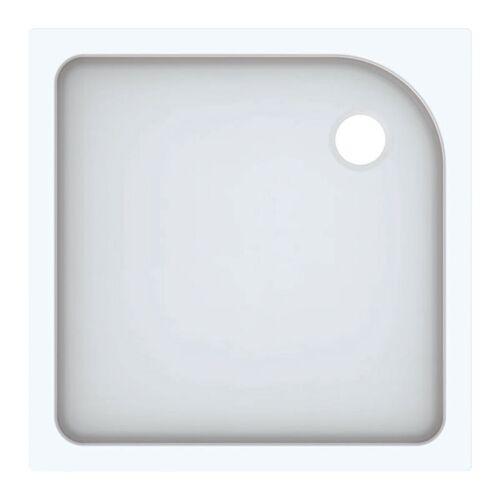 KERAMAG Geberit Duschwanne Tala quadratisch, glänzend/ weiß, 80 x 80 cm
