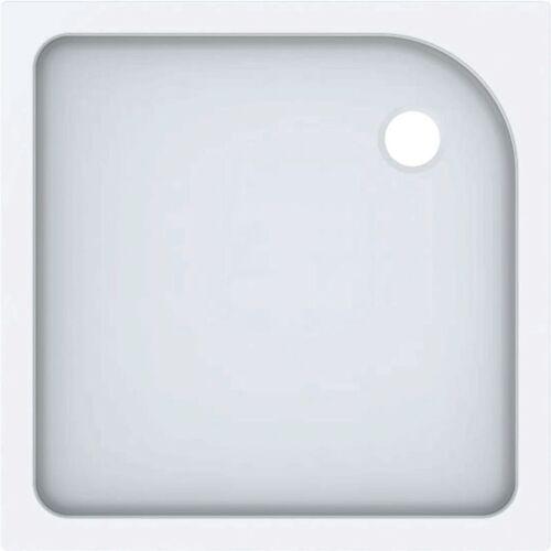 KERAMAG Geberit Duschwanne Tala quadratisch, glänzend/ weiß, 90 x 90 cm