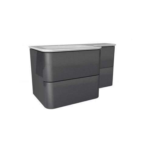 LANZET EKKO Waschtischunterschrank 100 cm mit Waschtisch-'7357712' - Lanzet
