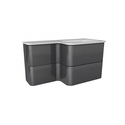 LANZET EKKO Waschtischunterschrank 100 cm mit Waschtisch-'7358812' - Lanzet