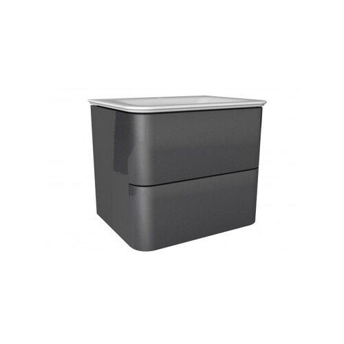 LANZET EKKO Waschtischunterschrank 60 cm mit Waschtisch-'7359812' - Lanzet