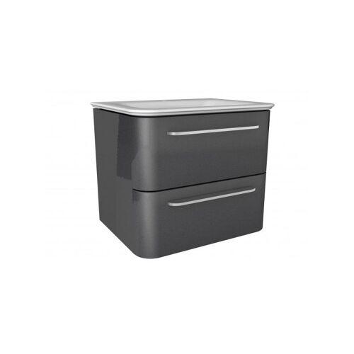 LANZET EKKO Waschtischunterschrank 60 cm mit Waschtisch-'7359912' - Lanzet