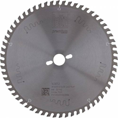 LEITZ Formatkreissägeblatt HW ø 303 x 3,5 x 30 mm Z60 Dachzahn/Hohlzahn
