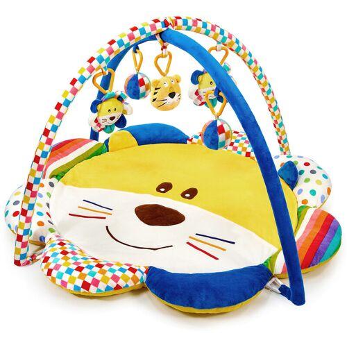 MOSBABY Spieldecke Baby Aktivitätsmatte Baby Spielmatte Baby Fitness Spielmatte