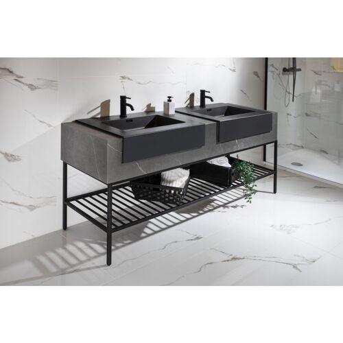 IMPEX-BAD Luxus Waschtischanlage ROJ-176 inkl. 2 Waschtische