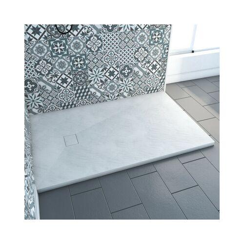 MARWELL Stone SMC in weiß 140 x 90 cm rechteckig - Marwell