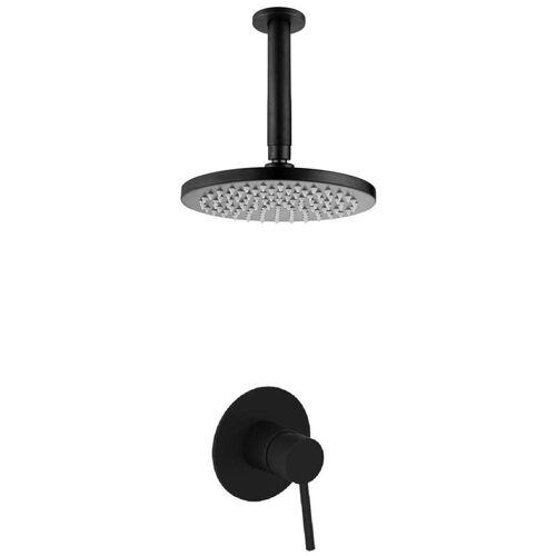 KROOS® Modernes Duschset aus schwarzem Messing