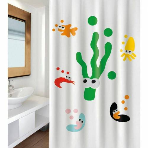 MSV Dusche Sealife multi Farbe 180cm - MSV