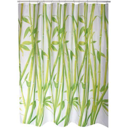 MSV Vorhang Bambus grün 180cm