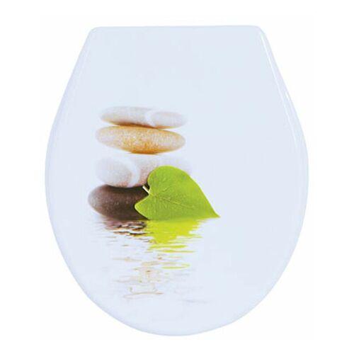 MSV WC Sitz Toilettendeckel PP WC Deckel – Lingga - MSV