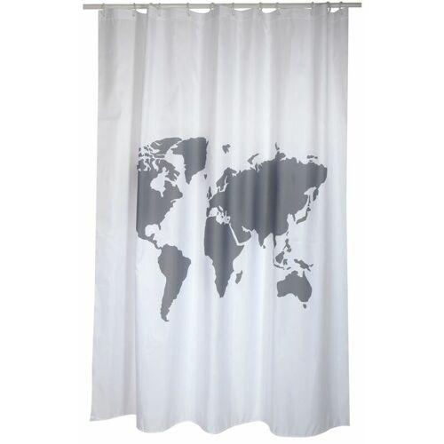 MSV Welt grauer Vorhang 180cm - MSV