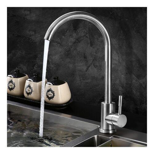 OOBEST Rostfreier Spültischarmatur Küchenarmatur Wasserhahn Spültisch Heiß und