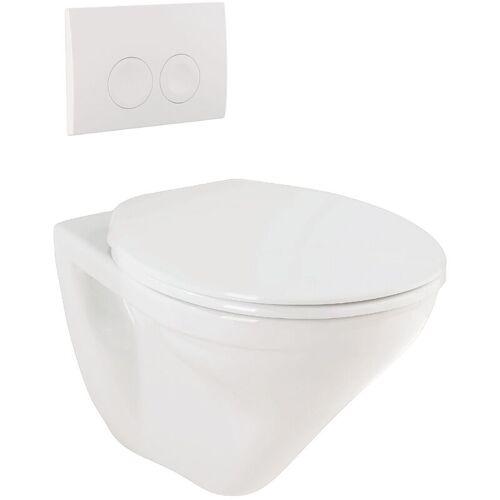 Sanitop-wingenroth - Targa Wand-WC-Set   weiß