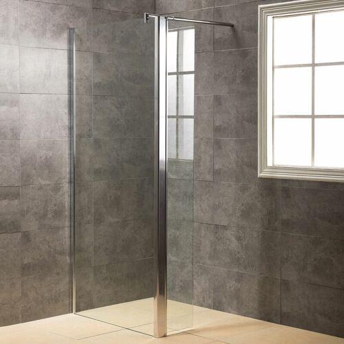 VIESTA Duschwand, Duschtrennwand DWP70 - inkl. Eckpaneel (30 cm)
