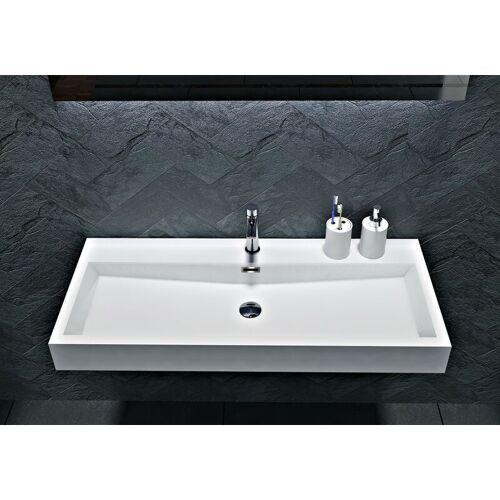 Bernstein - Wandwaschbecken Aufsatzwaschbecken BS6002 - Breite 76,5cm /