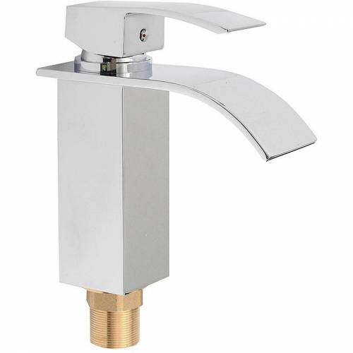 TEMPSA Waschbecken Wasserhahn 1/2 Zoll Wasserhahn mit 2 Rohren