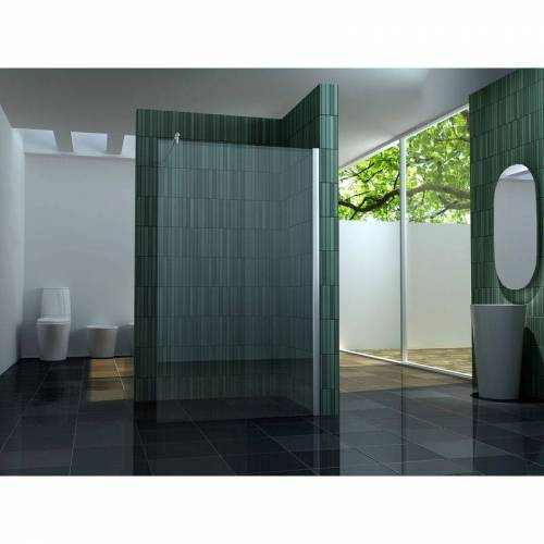 IMPEX-BAD 10 mm Duschtrennwand FREE 110 x 200 cm - IMPEX-BAD