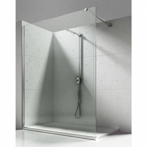 ALONI 8mm Walk in Duschwand NANO Echtglas Glas Dusche Duschkabine