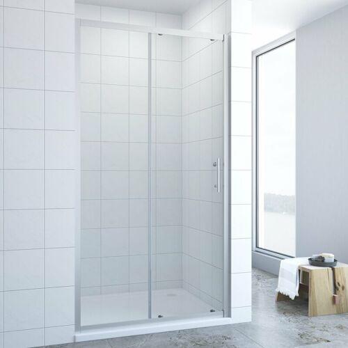 AQUABATOS ® Schiebetür Dusche Duschtür in Nische Nischentür Glastür