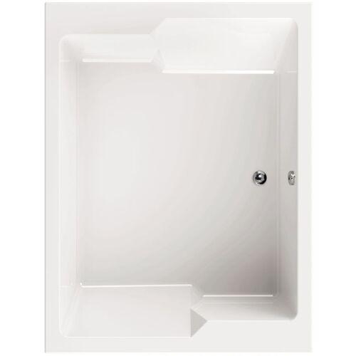AQUASU ' ® Acryl - Badewanne basinO I 190 x 145 cm I Weiß I Wanne I Badewanne