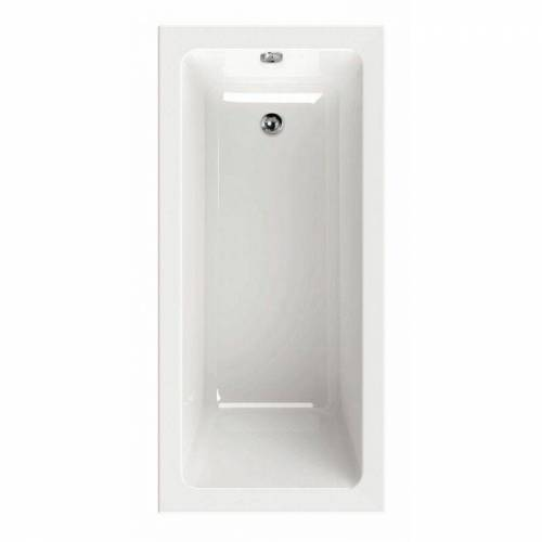SANITOP-WINGENROTH Acryl-Badewanne Linha 150 x 70 cm Rechteckig Weiß Rechteck-badewannen