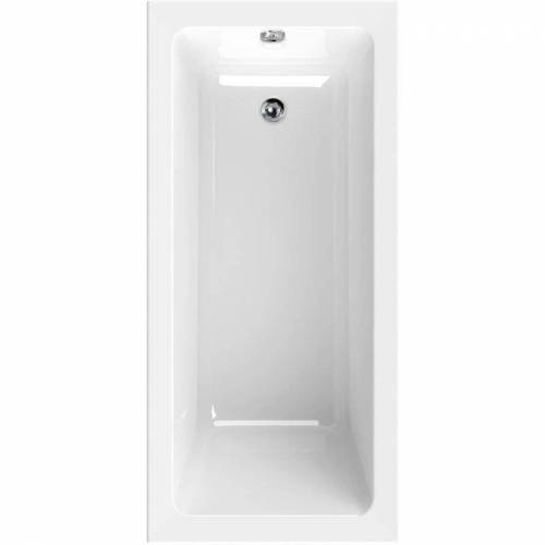 AQUASU ' ® Acryl-Badewanne linHa   Badewanne   Acrylwanne   Wanne   Weiß   150