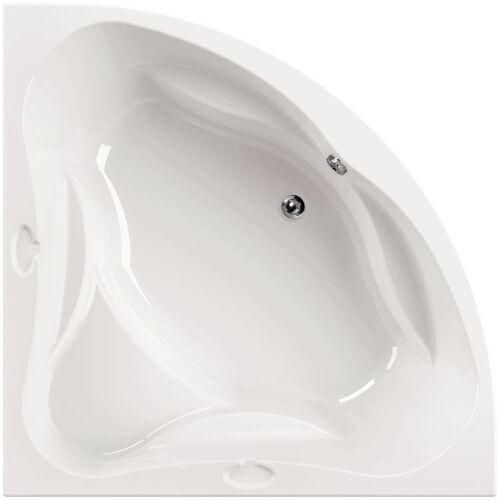 AQUASU ' ® Acryl - Badewanne meLeo I 140 x 140 cm I Weiß I Wanne I Badewanne I