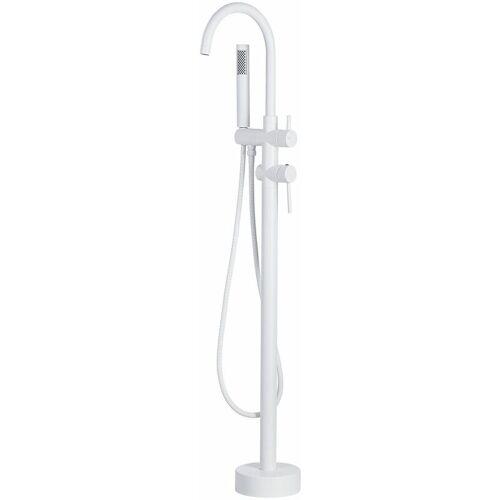 BELIANI Duscharmatur Armatur Freistehend Mischer Wasserhahn Dusche Set Brause