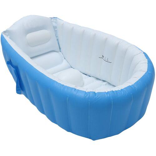 Manta - Aufklappbare aufblasbare Babybadewanne Tragbare Reiseduschwanne
