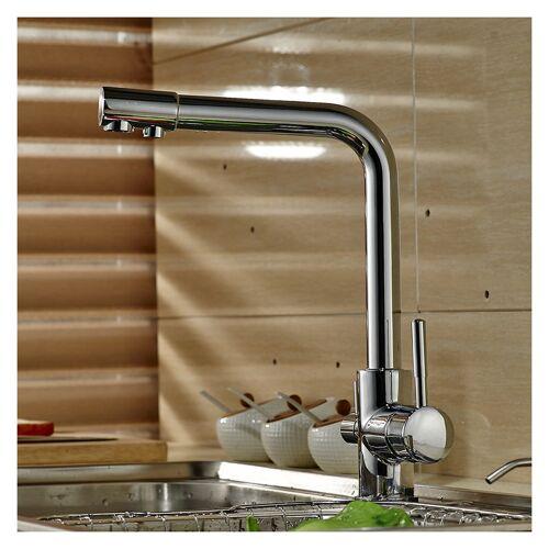 Auralum 3 Wege Küche Wasserhahn für Wasserfilter 360° drehbar