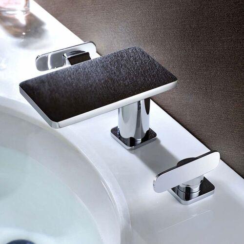 SANLINGO Badezimmer Bad 3Loch Waschbecken Badewanne Armatur Chrom Serie MYTO