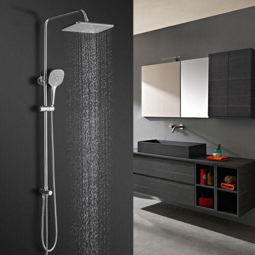 BONADE Duschsystem Regendusche Duschset mit Handbrause Kopfbrause