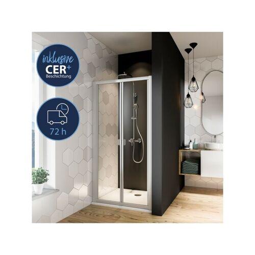 BREUER GMBH & CO.KG Breuer Gmbh&co.kg - Breuer Dusche Fara Falttür Nische oder Seitenwand